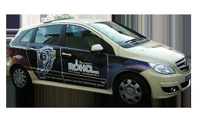 Fuhrpark der Taxi Transporte Fischer Burgau
